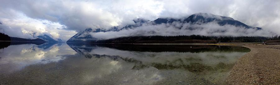 Mountain Mists Panoramic - Golden Ears Prov. Park, British Columbia Photograph