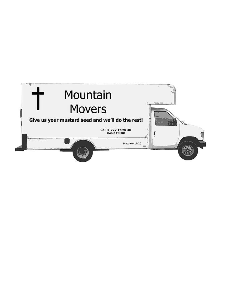 Faith Digital Art - Mountain Movers by Stephanie Grooms