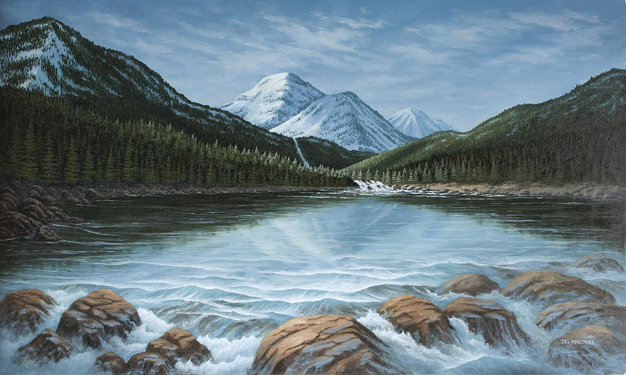 Mountain Paradise by Del Malonee