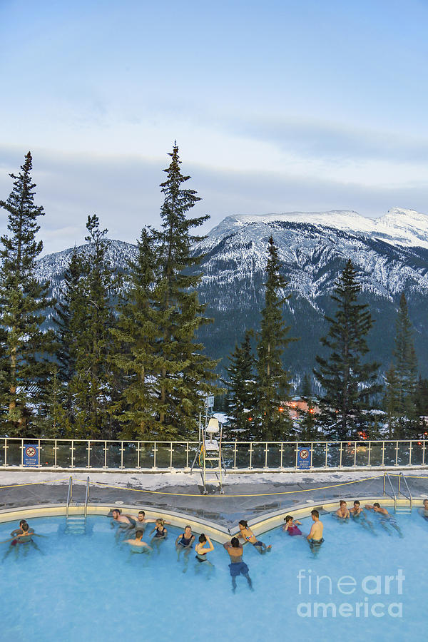 Banff Photograph - Mountain Paradise by Evelina Kremsdorf