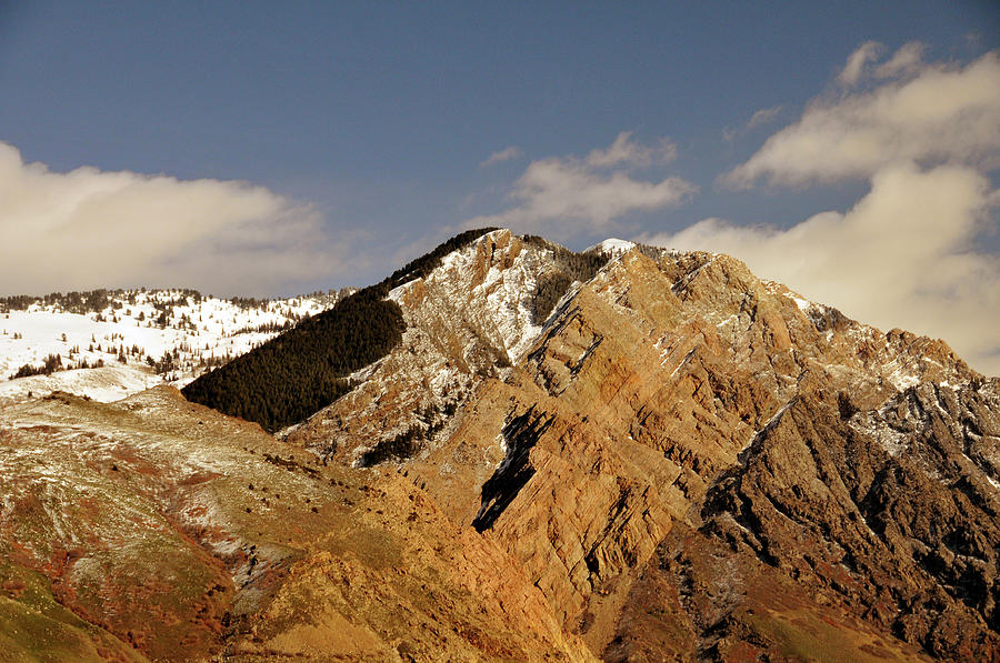 Mountain Peak North Of Ogden, Utah Photograph by Utah-based Photographer Ryan Houston