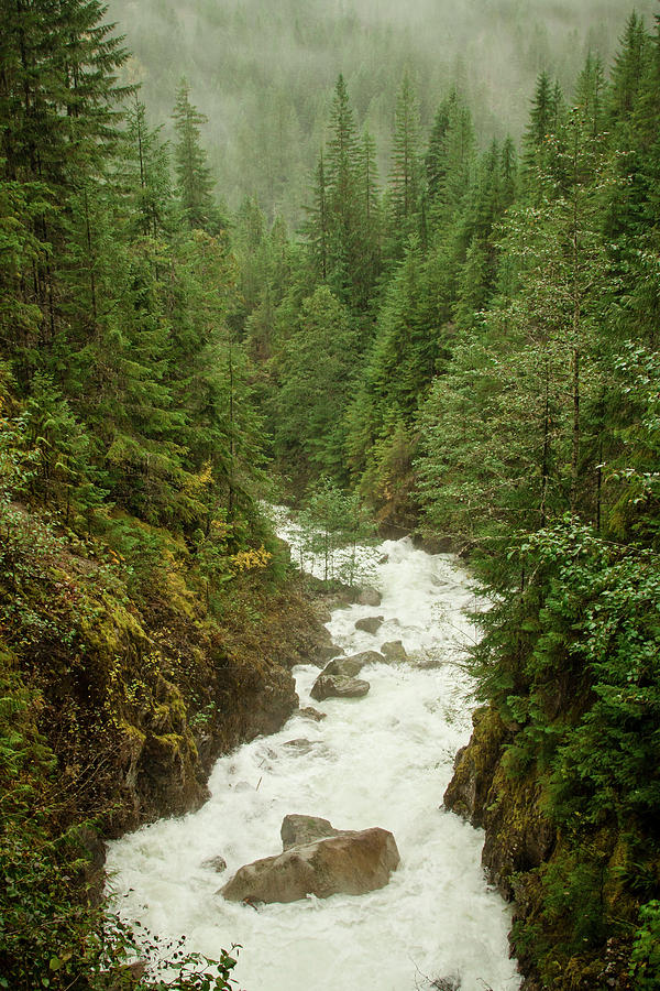 Beauty In Nature Photograph - Mountain River by Christopher Kimmel
