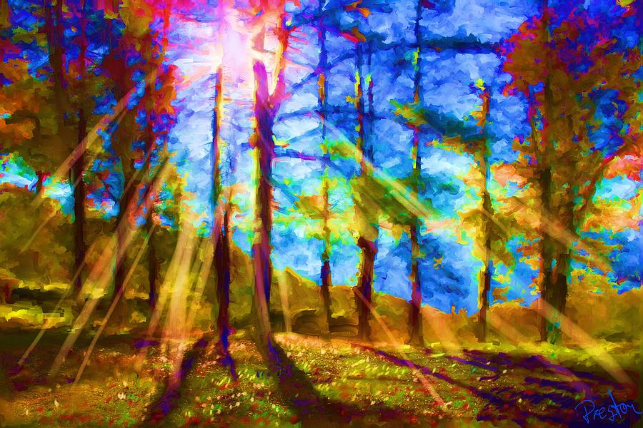 Mountain Shadows Painting - Mountain Shadows by Preston Sandlin