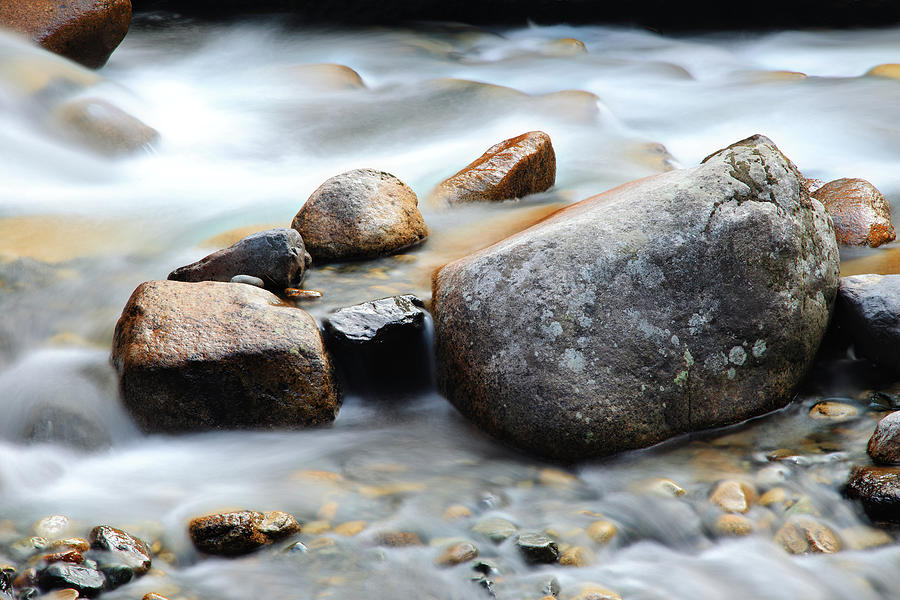 Mountain Stream Photograph by Petekarici