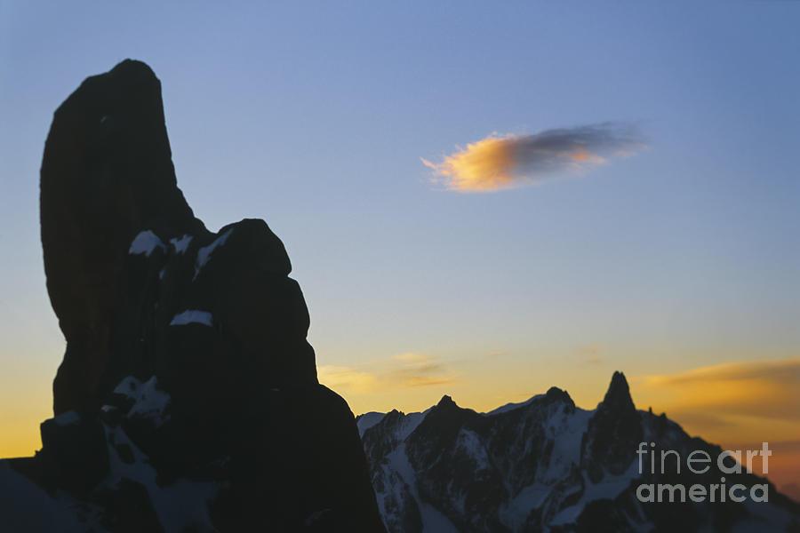 Accomplishments Photograph - Mountain Sunrise Scenery by Soren Egeberg