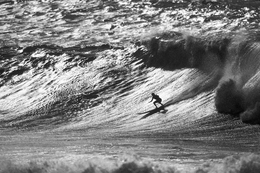 Surfing Photograph - Mountain Surfer by Sean Davey
