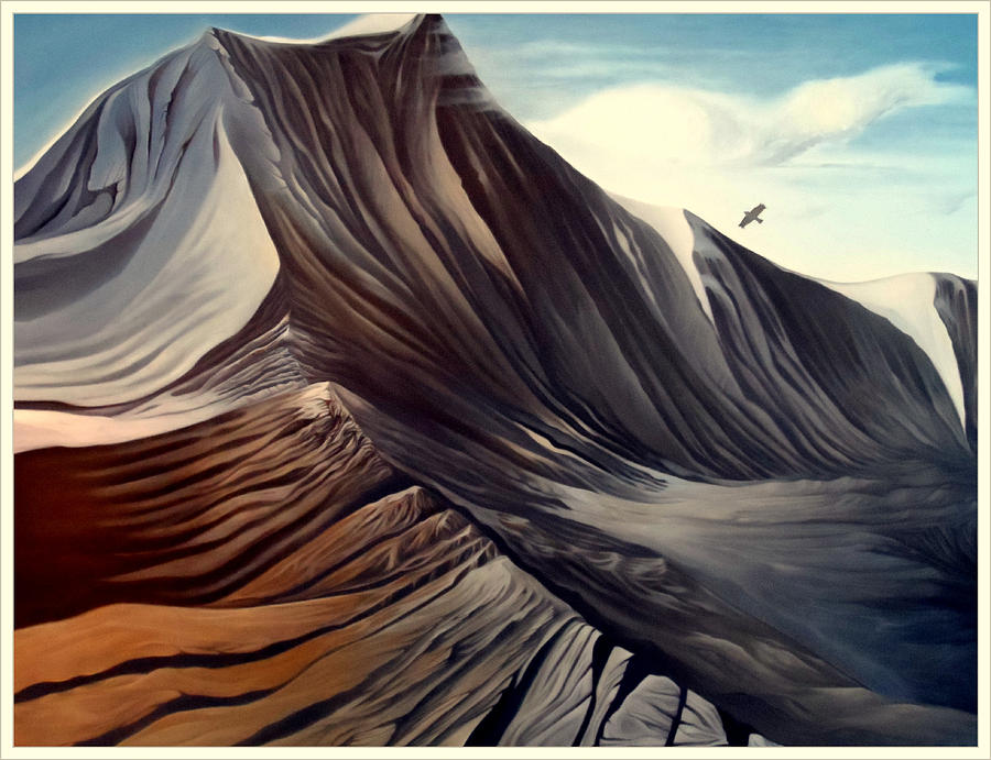 Landscape Painting - Mountain To Climb by Dawson Taylor
