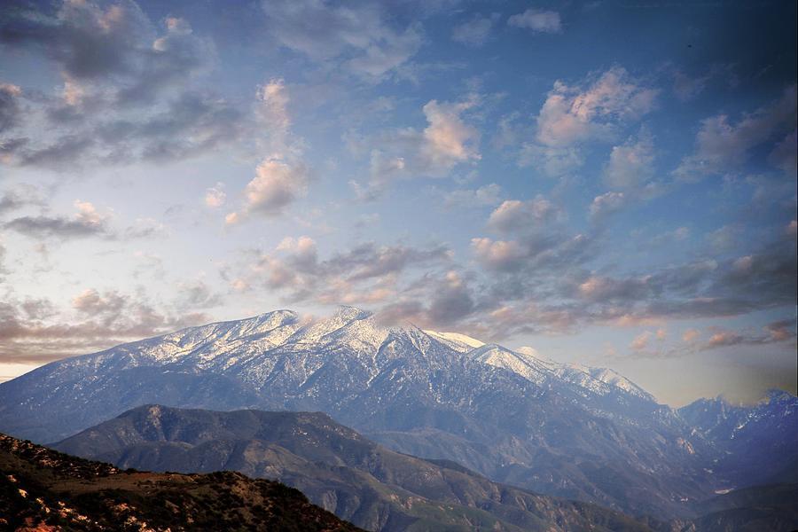 Mountains  Photograph - Mountain Top by Athala Carole Bruckner