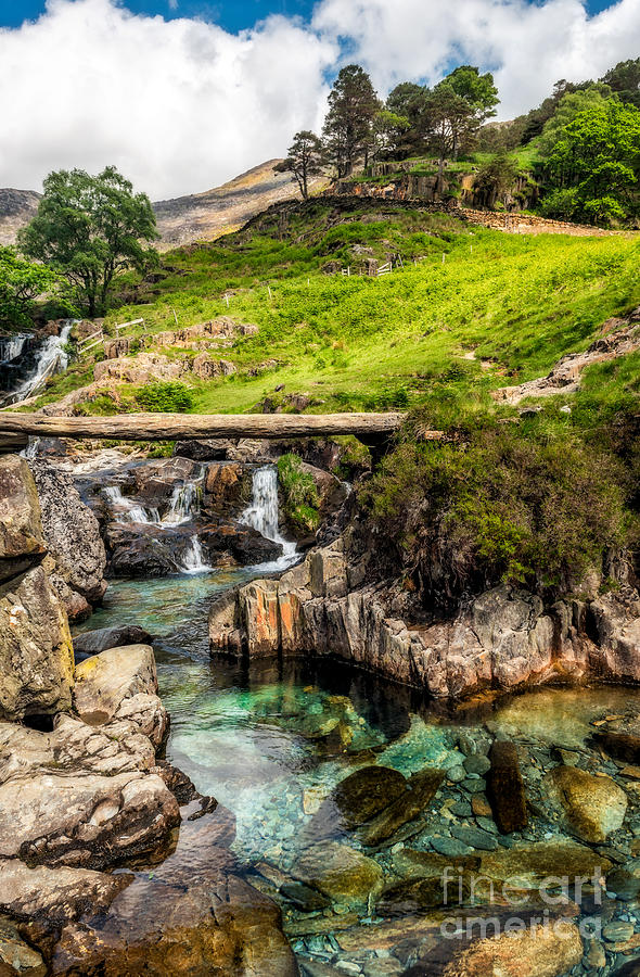 Waterfall Photograph - Mountain Trail by Adrian Evans