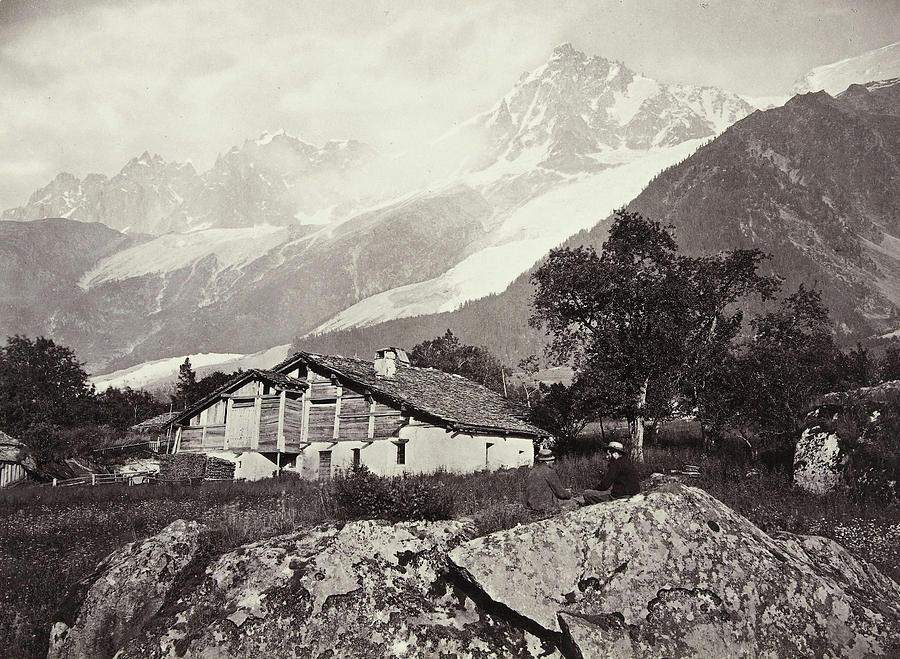 Mountain View In Switzerland William England Drawing By Artokoloro