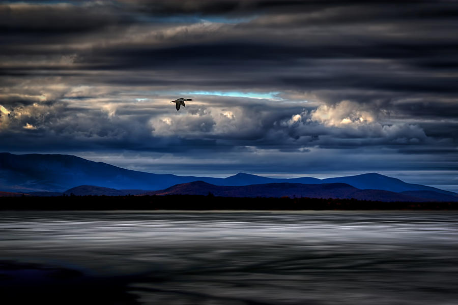 Mt. Katahdin Photograph - Mountain View - Mt. Katahdin by Gary Smith