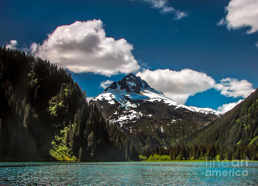 Alaska Photograph - Mountain View by Robert Bales
