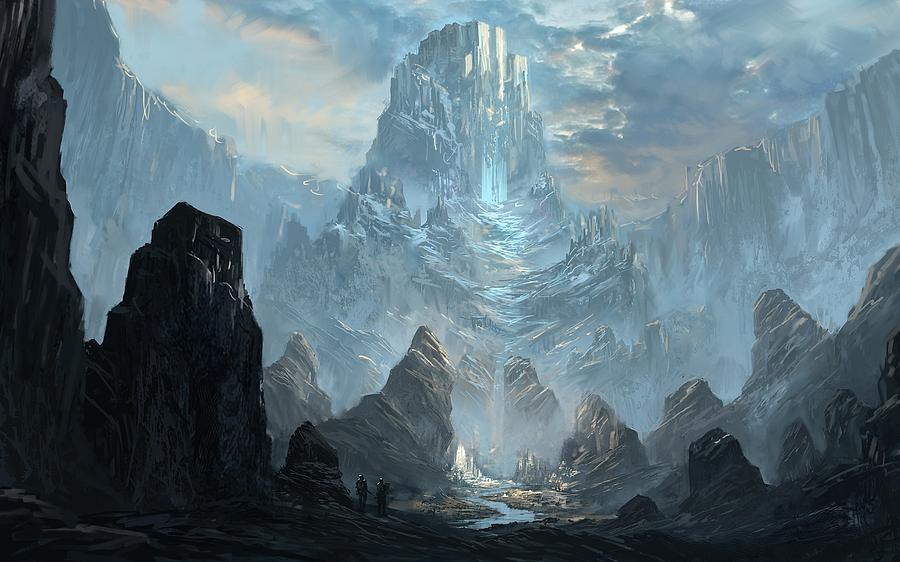 Ulaz 12 Mountains-castles-fantasy-ming-chen