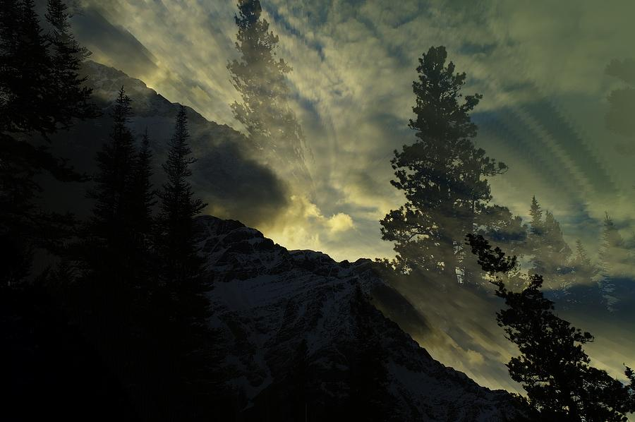 Mountains Photograph - Mountains Dreams by Jeff Swan