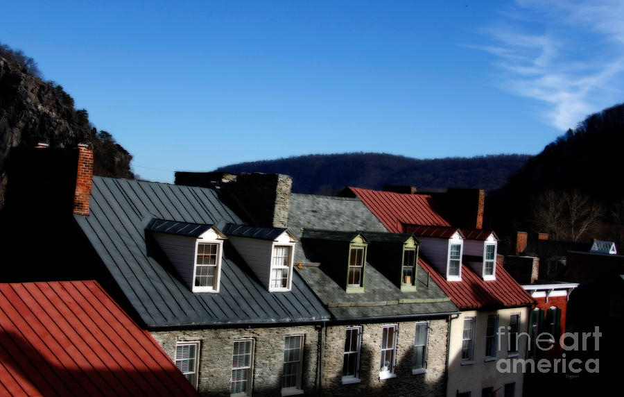 Architecture Photograph - Mountains Of Rooftops  by Steven Digman