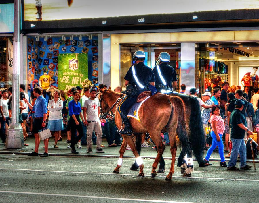 Mounted Patrol 0101 Photograph