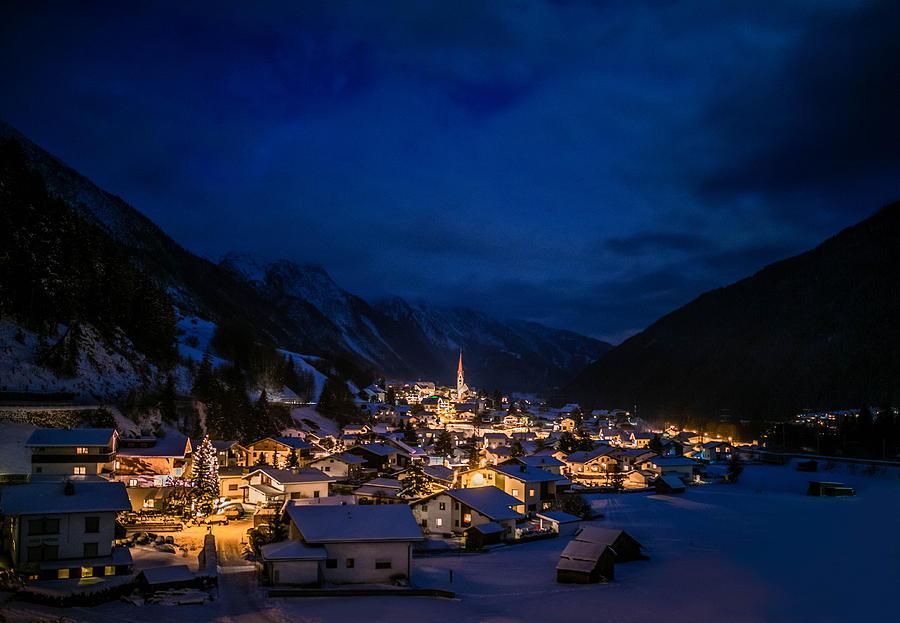 Moody Photograph - Mountian Village by Soren Egeberg