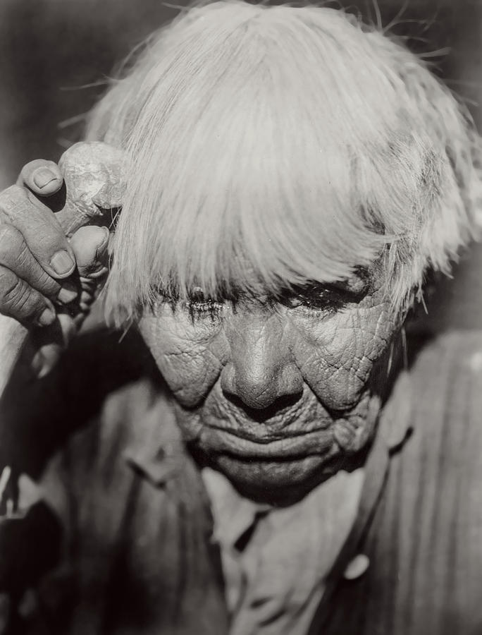 Old Photograph - Mourning Circa 1924 by Aged Pixel
