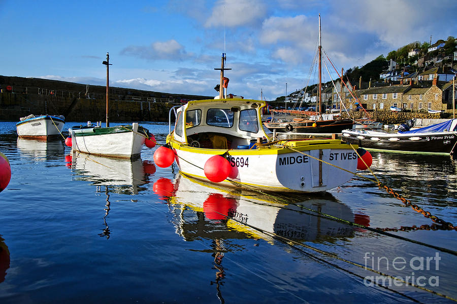 Mousehole Photograph - Mousehole Harbour by Susie Peek