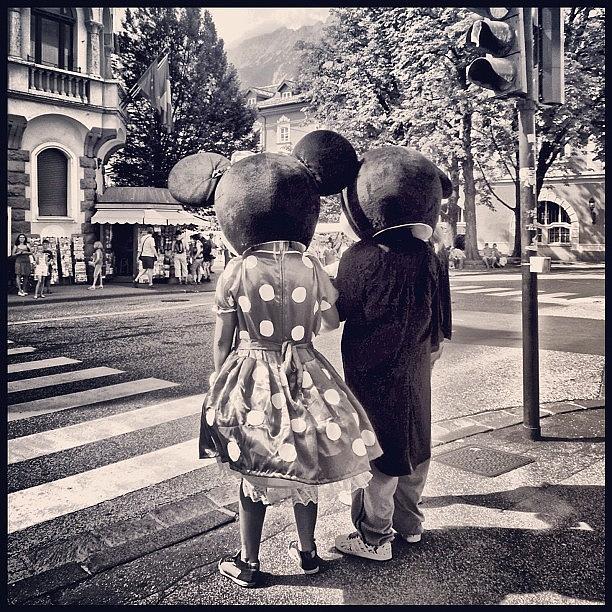 Disney Photograph - Mousing Around by Faye Sanna