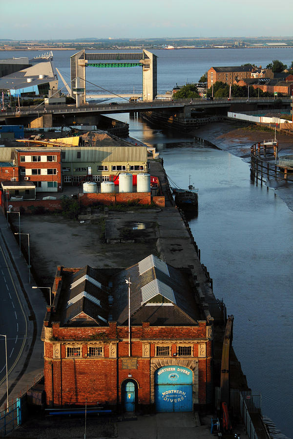 Mouth Photograph - Mouth Of The River Hull by Anthony Bean