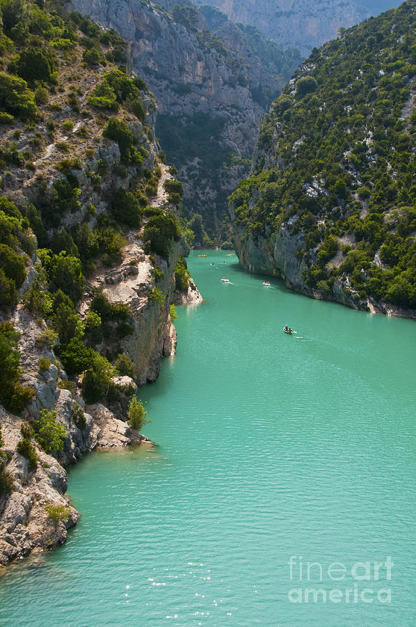 Mouth Of The Verdon River  Photograph by Bob Phillips