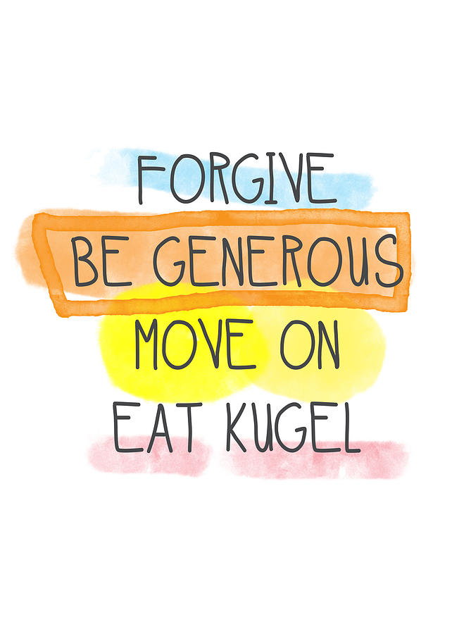 Move On And Eat Kugel Painting