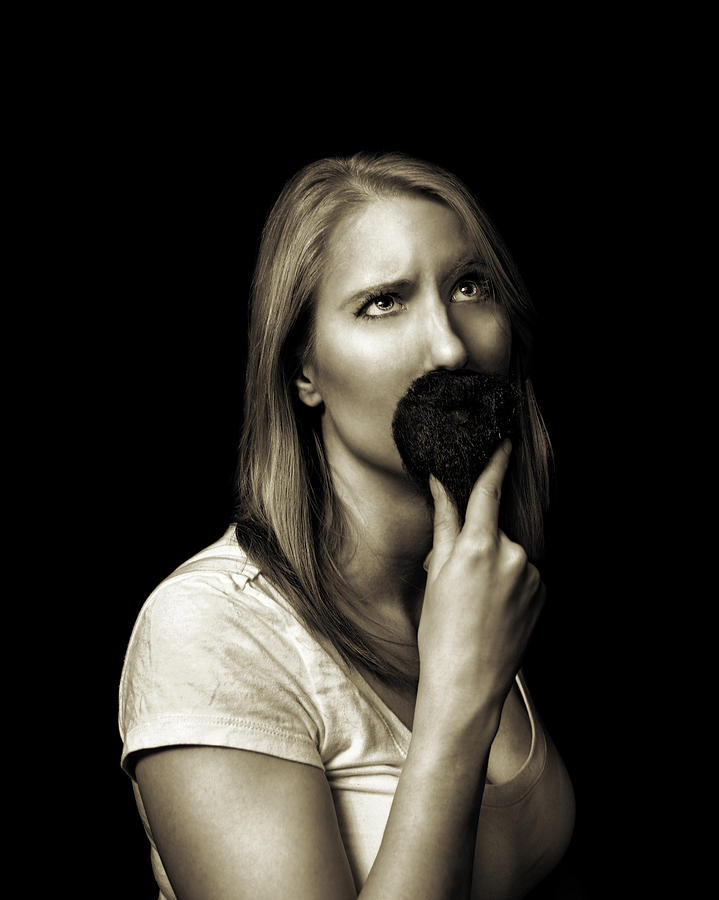Moustache Photograph - Movember Eighth by Ashley King