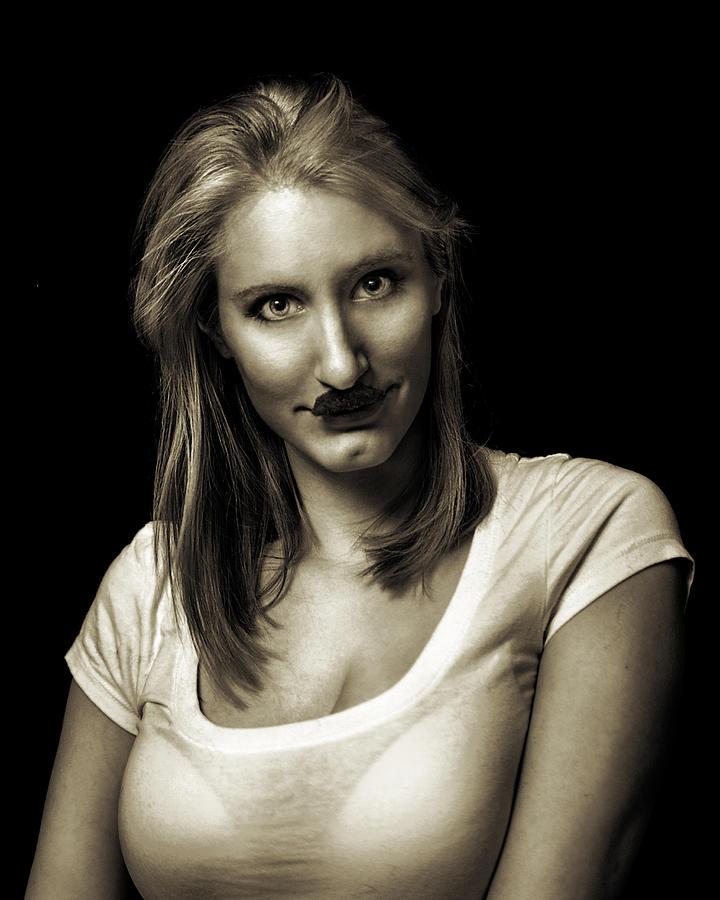 Movember Photograph - Movember Fifth by Ashley King