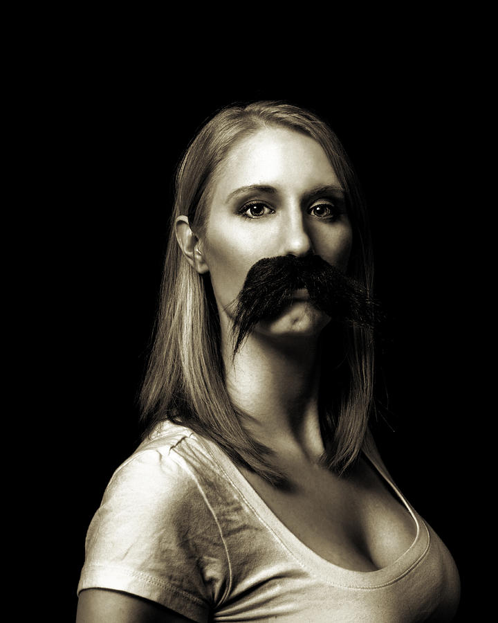 Movember Photograph - Movember First by Ashley King