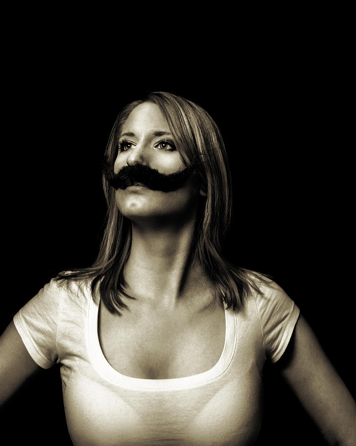 Movember Photograph - Movember Fourth by Ashley King