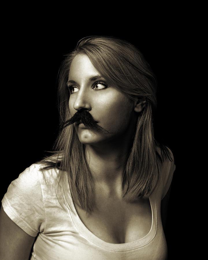 Movember Photograph - Movember Nineteenth by Ashley King