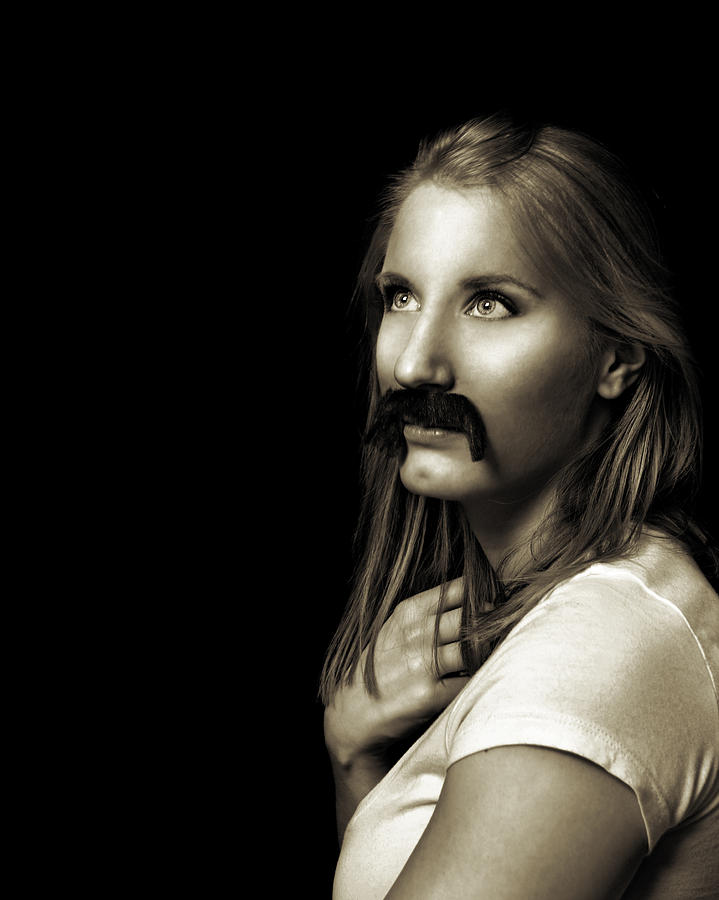 Movember Photograph - Movember Ninth by Ashley King