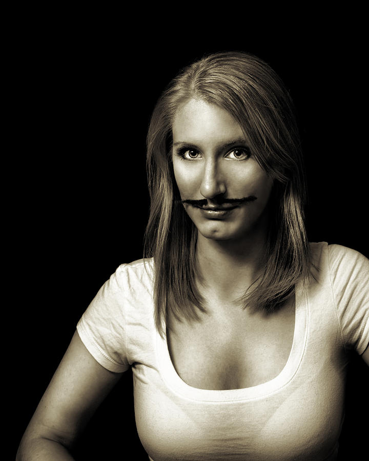 Movember Photograph - Movember Second by Ashley King