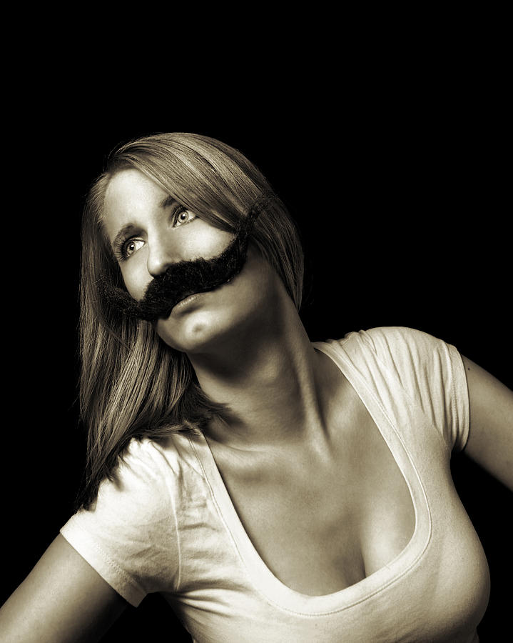 Movember Photograph - Movember Seventeenth by Ashley King