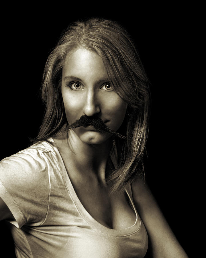 Movember Photograph - Movember Sixth by Ashley King