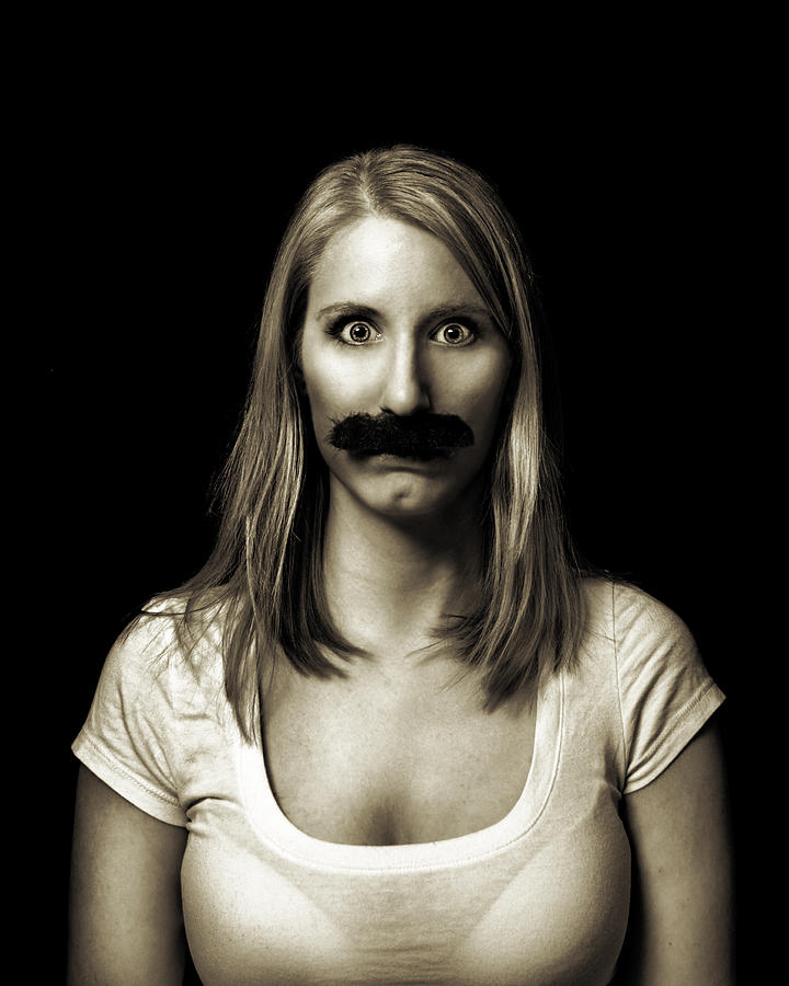 Movember Photograph - Movember Third by Ashley King
