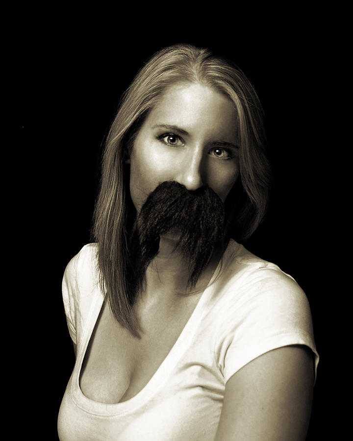 Photograph - Movember Twentieth by Ashley King