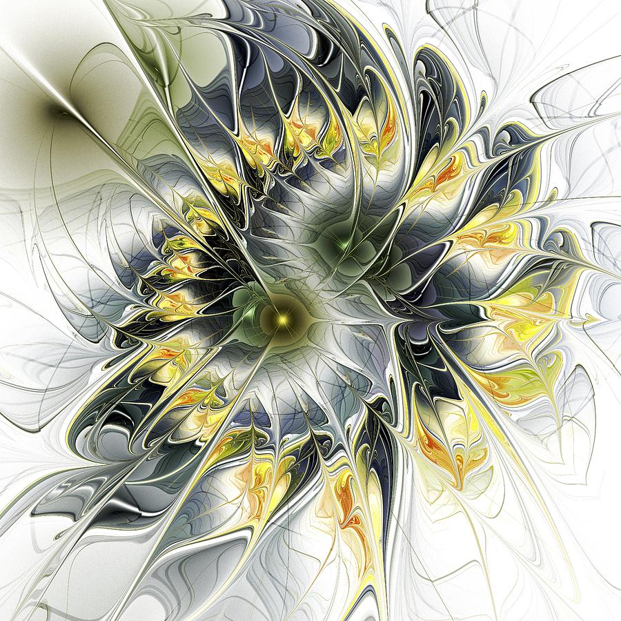 Malakhova Digital Art - Movement by Anastasiya Malakhova