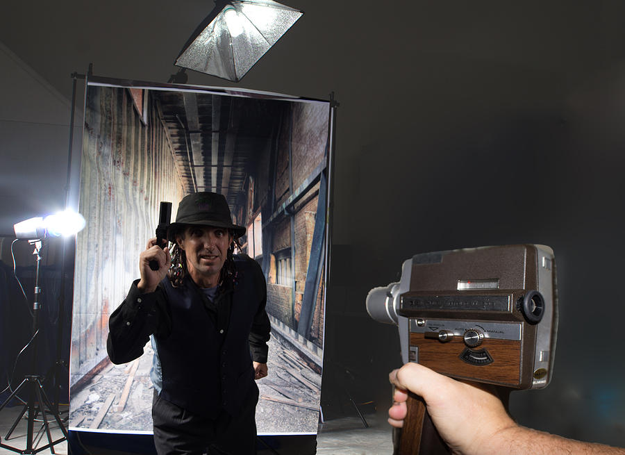 Movie Camera Photograph