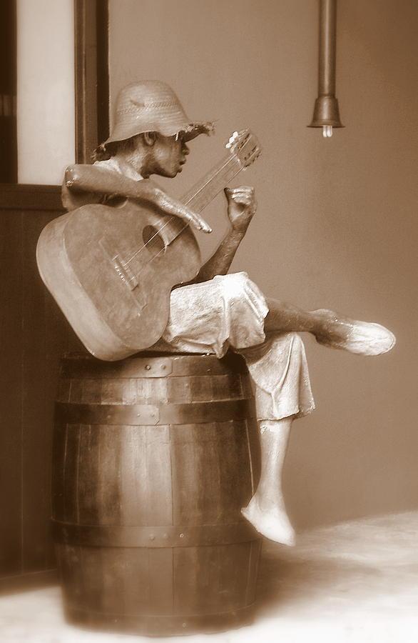 Music Photograph - Mr. Bojangles by Karen Wiles