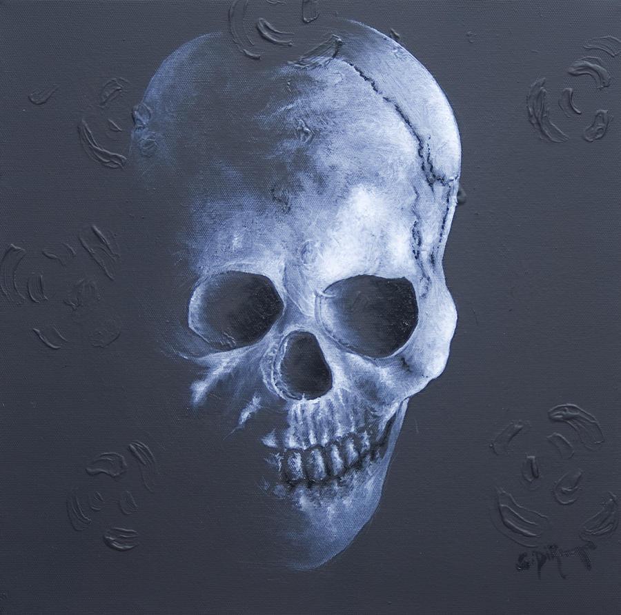 Portrait Painting - Mr. Bones by Stephen J DiRienzo