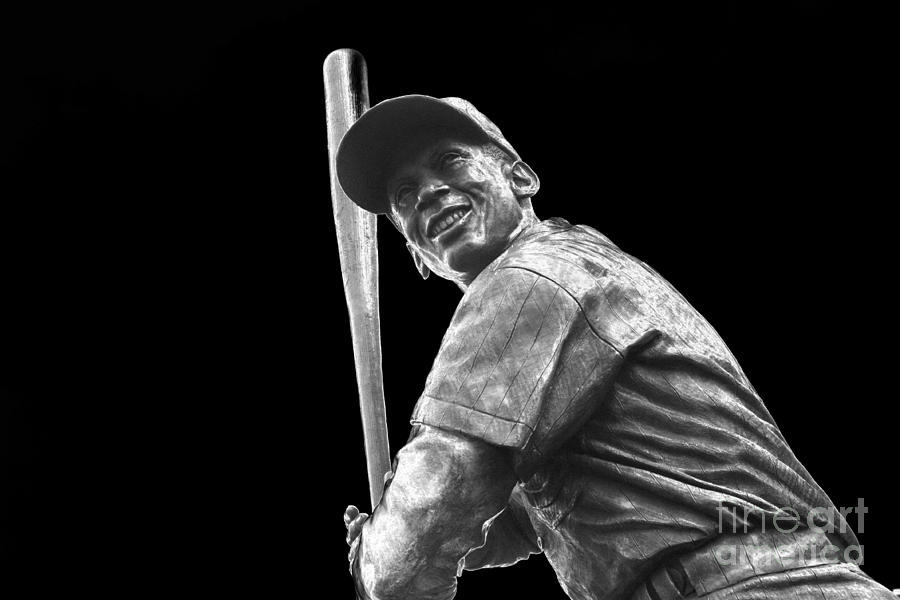 Ernie Banks Photograph - Mr. Cub by David Bearden