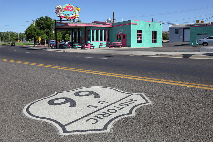 Mr. Ds Diner Route 66 Photograph by Rainer Grosskopf