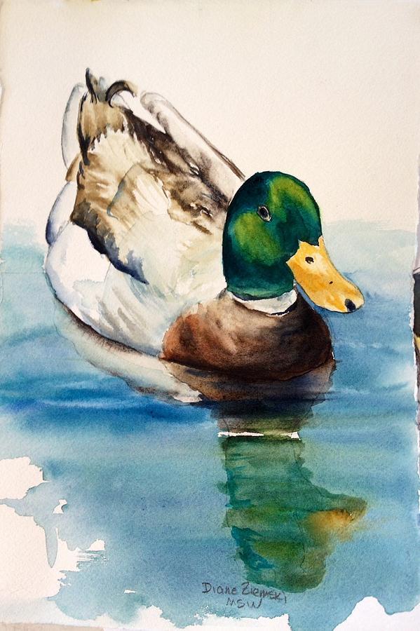 Mr duck by Diane Ziemski