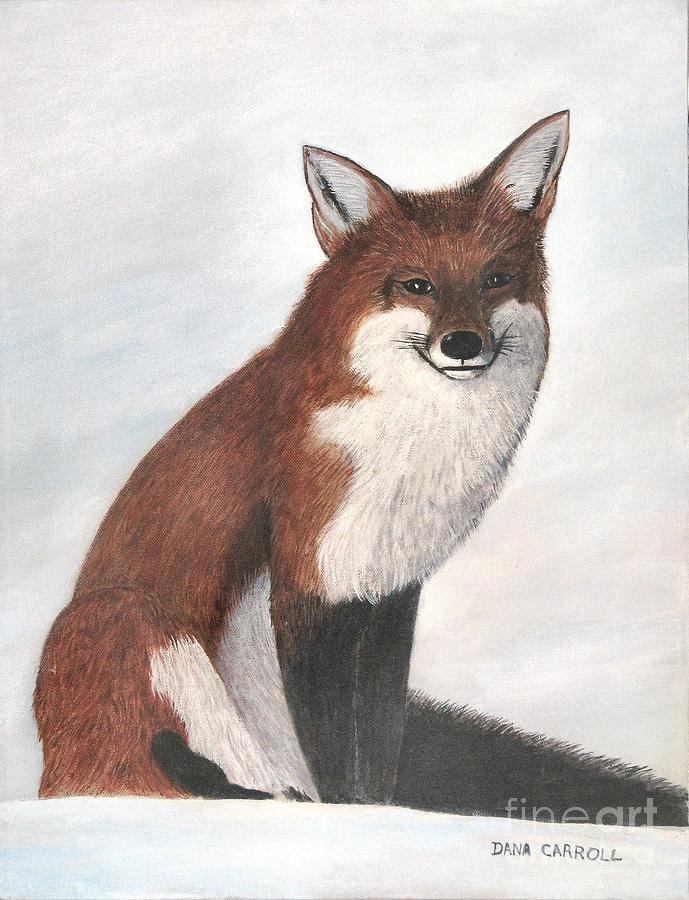 Fox Painting - Mr Fox by Dana Carroll