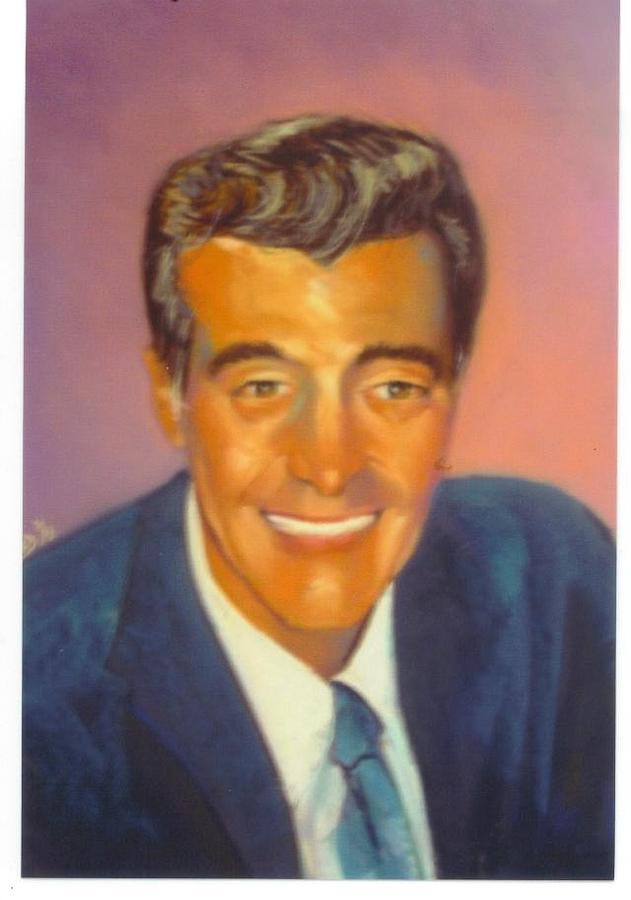 Portrait Pastel - Mr. Gitto by Leonard R Wilkinson