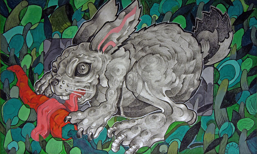 Mr Greedy Bunny by Myron  Belfast