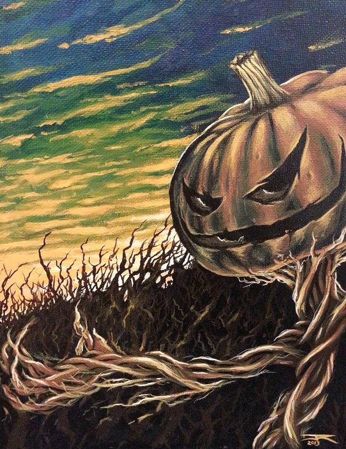 Halloween Painting - Mr. Jack by James Rodgers