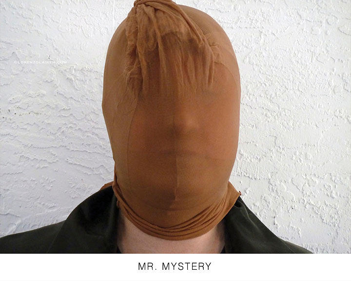 Masks Photograph - Mr. Mystery by Lorenzo Laiken